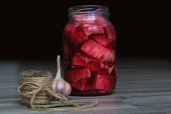 λάχανο που παστώνεται Στοκ Εικόνες