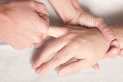 δάχτυλο Στοκ φωτογραφία με δικαίωμα ελεύθερης χρήσης