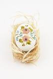 άχυρο αυγών Πάσχας στοκ φωτογραφίες