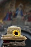 άχυρο Βενετία καπέλων Στοκ φωτογραφίες με δικαίωμα ελεύθερης χρήσης