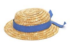 άχυρο καπέλων Στοκ Εικόνα