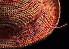 άχυρο καπέλων Στοκ Φωτογραφία