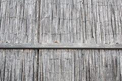 άχυρο μπαμπού παλαιό παράθυρο σύστασης λεπτομέρειας ανασκόπησης ξύλινο Στοκ Εικόνες