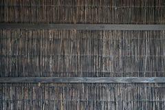 άχυρο μπαμπού παλαιό παράθυρο σύστασης λεπτομέρειας ανασκόπησης ξύλινο Στοκ εικόνα με δικαίωμα ελεύθερης χρήσης