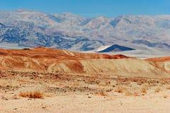 άψυχη αμερικανική κοιλάδα τοπίων θανάτου Καλιφόρνιας Στοκ εικόνα με δικαίωμα ελεύθερης χρήσης
