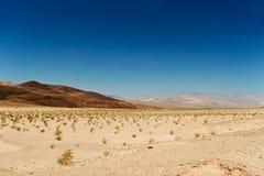 άψυχη αμερικανική κοιλάδα τοπίων θανάτου Καλιφόρνιας Στοκ Εικόνες
