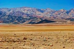 άψυχη αμερικανική κοιλάδα τοπίων θανάτου Καλιφόρνιας Στοκ φωτογραφία με δικαίωμα ελεύθερης χρήσης