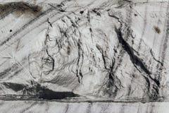 Άλας βράχου στο αλατισμένο ορυχείο Στοκ Φωτογραφία