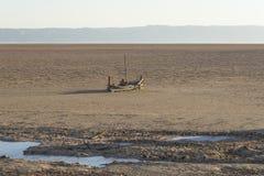 άλας Σαχάρας λιμνών Τυνησία στοκ εικόνα