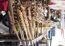 Άλας ψαριών Grilleg στην αγορά στοκ φωτογραφία με δικαίωμα ελεύθερης χρήσης