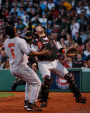Άλας Fasano, Catcher Baltimore Orioles Στοκ Φωτογραφίες