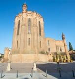 Άλβη (Γαλλία), καθεδρικός ναός στοκ εικόνες