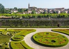 Άλβη, Palais de Λα Berbie, κήπος στοκ εικόνα με δικαίωμα ελεύθερης χρήσης