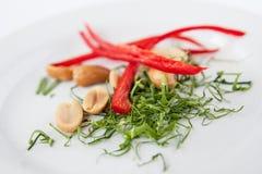 Συστατικά για τα ταϊλανδικά τρόφιμα, ταϊλανδικό χορτάρι παράδοσης Στοκ εικόνες με δικαίωμα ελεύθερης χρήσης