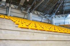 άδειες θέσεις κίτρινες Στοκ Φωτογραφίες