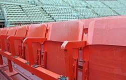 Άδειες θέσεις πριν από το αθλητικό θέαμα Στοκ Εικόνες