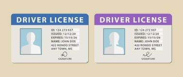 Άδειες οδήγησης Στοκ εικόνα με δικαίωμα ελεύθερης χρήσης