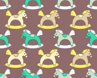 Άλογα λικνίσματος απεικόνιση αποθεμάτων