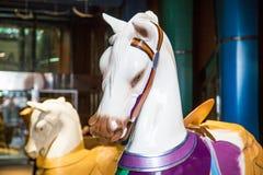 Άλογα ιπποδρομίων που χρωματίζονται Στοκ Εικόνες