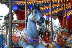 Άλογα ιπποδρομίων διανυσματική απεικόνιση