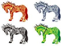 Άλογα ελεύθερη απεικόνιση δικαιώματος