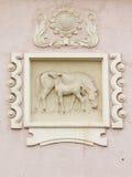 Άλογα Bas Στοκ φωτογραφία με δικαίωμα ελεύθερης χρήσης