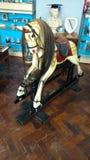 Άλογο λικνίσματος Στοκ Φωτογραφία