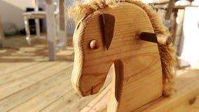 Άλογο λικνίσματος Στοκ Εικόνα
