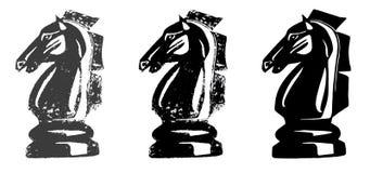 Άλογο ιπποτών σκακιού Στοκ Φωτογραφία