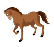 Άλογο κινούμενων σχεδίων Στοκ φωτογραφία με δικαίωμα ελεύθερης χρήσης