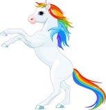 Άλογο ουράνιων τόξων Στοκ φωτογραφίες με δικαίωμα ελεύθερης χρήσης