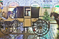 Άλογο-οδηγημένη μεταφορά Στοκ Φωτογραφίες