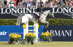 Άλογο που πηδά - Katharina Offel Στοκ εικόνες με δικαίωμα ελεύθερης χρήσης
