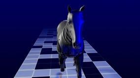 Άλογο ρομπότ απόθεμα βίντεο