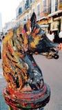 Άλογο στο μπέρμπον ST Στοκ φωτογραφία με δικαίωμα ελεύθερης χρήσης