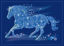 Άλογο τρεξίματος Στοκ εικόνα με δικαίωμα ελεύθερης χρήσης