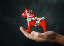 Άλογο Dalecarlian Στοκ εικόνες με δικαίωμα ελεύθερης χρήσης