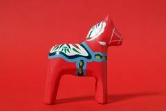 Άλογο Dalecarlian Στοκ Εικόνες