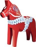 Άλογο Dalecarlian Στοκ Εικόνα