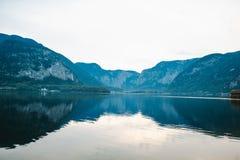 Άλπεις της Αυστρίας Hallstat Στοκ φωτογραφία με δικαίωμα ελεύθερης χρήσης