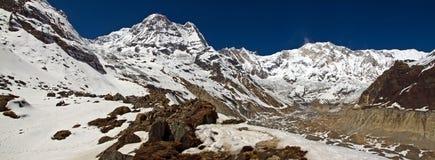 Άδυτο Annapurna Στοκ Φωτογραφίες