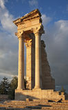 Άδυτο Apollon Hylatis Ναός απόλλωνα στο Κούριο Κύπρος Στοκ φωτογραφία με δικαίωμα ελεύθερης χρήσης