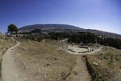 Άδυτο Dionysus στην Αθήνα Στοκ φωτογραφία με δικαίωμα ελεύθερης χρήσης