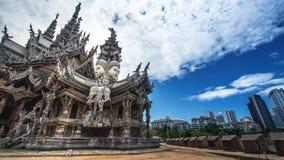 Άδυτο Pattaya της αλήθειας Στοκ φωτογραφία με δικαίωμα ελεύθερης χρήσης