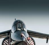 Άλφα αεριωθούμενο αεροπλάνο Στοκ φωτογραφία με δικαίωμα ελεύθερης χρήσης