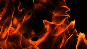 Άλφα φλόγες και πυρκαγιά καναλιών απόθεμα βίντεο