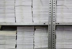 Έγγραφα γραφείων που αρχειοθετούνται Στοκ φωτογραφία με δικαίωμα ελεύθερης χρήσης