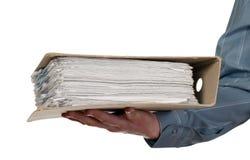έγγραφα καταλόγων που κρ& Στοκ εικόνα με δικαίωμα ελεύθερης χρήσης
