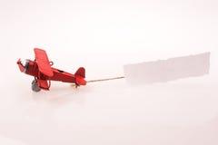 Έγγραφο αεροπλάνων και σημειώσεων Στοκ Εικόνα