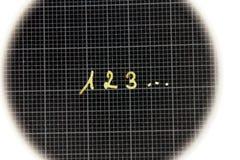 έγγραφο αριθμών γραφικών π&alpha Στοκ Εικόνες